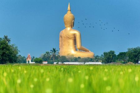 Big Buddha at Wat muang , Angthong , ThailandThis is a biggest buddha in thailand photo