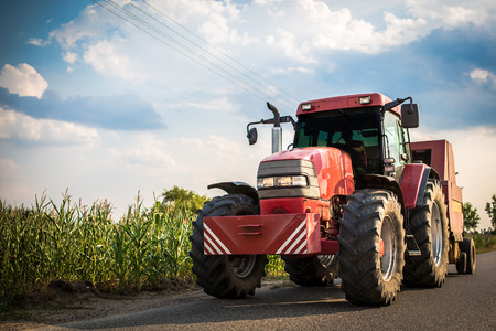road tractor: Tractor Stock Photo