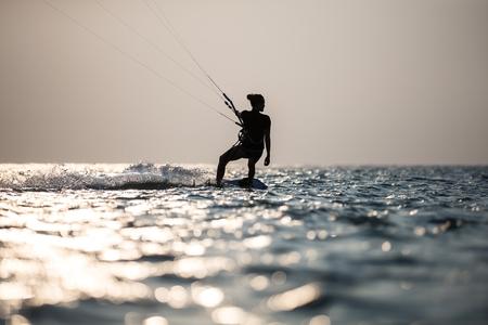 kite surfing: Kitesurfing