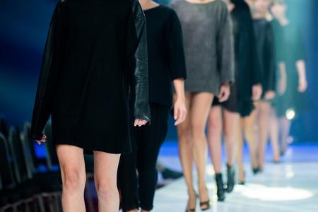 Show de moda  Foto de archivo - 38283998