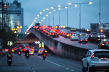 흐린 교통