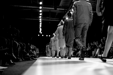 Sfilata di moda Archivio Fotografico - 40350102