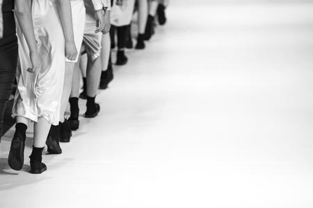 Show de moda  Foto de archivo - 41499331