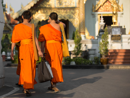 adult vietnam: Monks at the temple