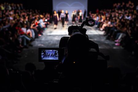 fashion model catwalk: fashion show