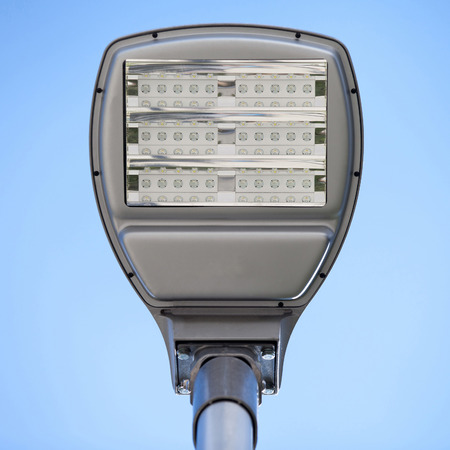 electric avenue: LED street lamps with energy-saving technology