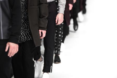 紳士服ファッションショー