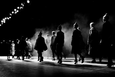 sfilata di moda Archivio Fotografico