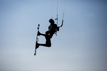kite surfing: Kite surfing, kiteboarding action photos