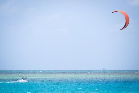 kiteboarding: Kite surfing, kiteboarding action photos