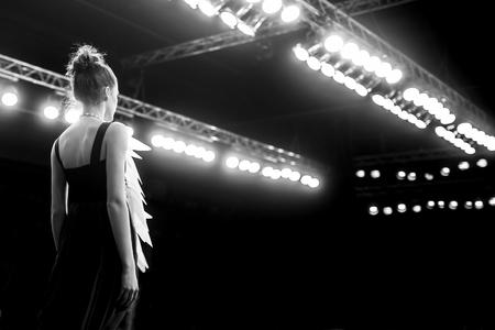 Fashion Show, Catwalk Event A Banque d'images