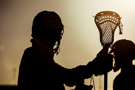 lacrosse: Lacrosse - american high school sports themed photo