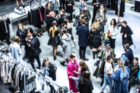Sfilata di moda, Passerella Evento Backstage offuscata On Purpose