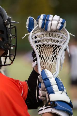 Lacrosse - american high school sports themed photo