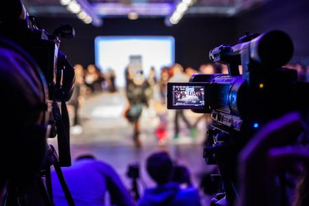 milánó: Televison Camera Broadcasting and Show