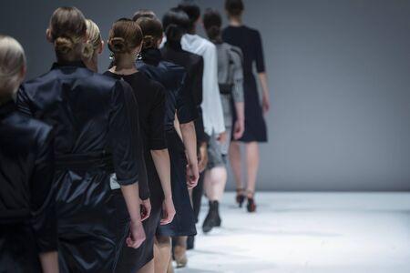 Défilé de mode, événement de défilé de passerelle Banque d'images