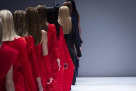 Fashion Show, Catwalk Runway Show Event Reklamní fotografie