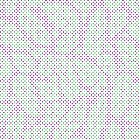 Continuous leaf image pattern made up of small dots.Pattern seamless for textile industry 向量圖像