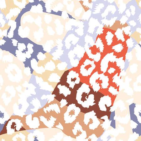 pattern seamless leopard skin texture
