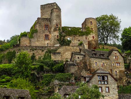 Belcastel medieval town Editorial
