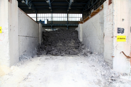 kaolin: Clay modrice reserves in the factory