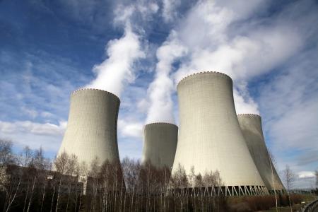Kerncentrale Temelin in Tsjechië Europa