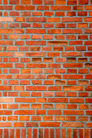 brick background: Red brick wall background