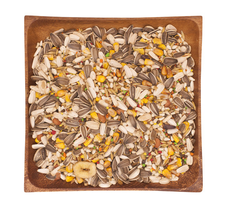 Mixture of seeds for canary photo