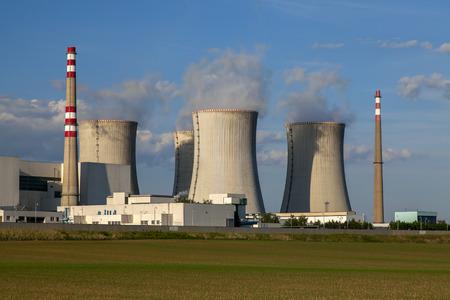 dukovany: Nuclear power plant Dukovany reactor in Czech Republic Europe