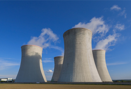 Nuclear power plant Dukovany in Czech Republic Europe Imagens