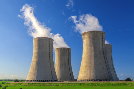 Nuclear power plant Dukovany in Czech Republic Europe photo