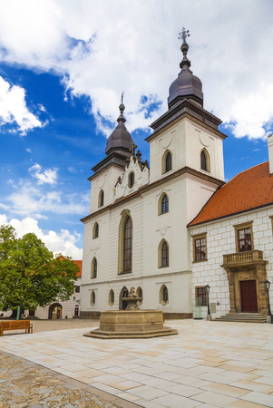 Castle Trebic in the Czech Republic