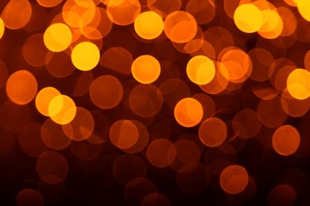 Gouden onscherpe lichten nuttig als achtergrond. Goed voor website-ontwerpen of textuur Stockfoto