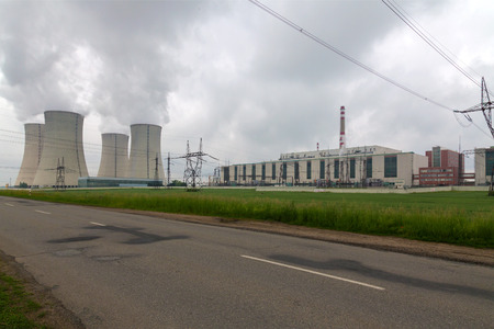 dukovany: Nuclear power plant Dukovany in Czech Republic Europe Editorial