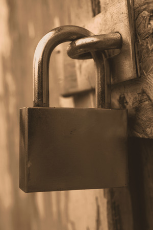 Security lock photo
