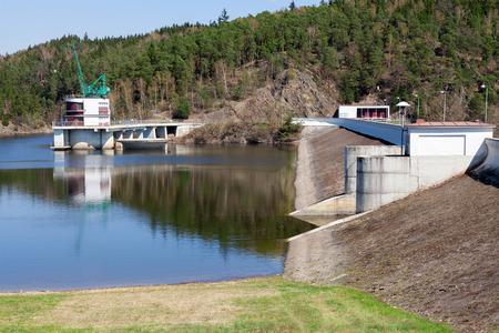 czech republic: Dam Hracholusky, Czech Republic