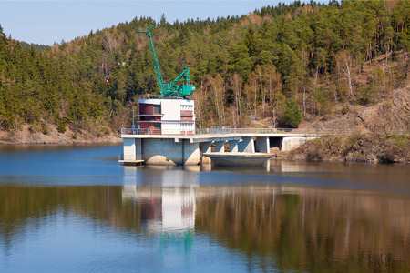 bulkhead: Dam Hracholusky, Czech Republic