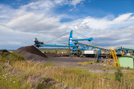 browncoal: A giant wheel excavator in brown coal mine