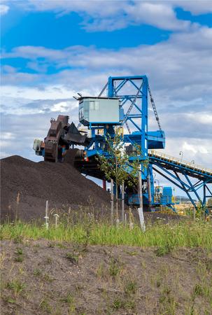 rwe: A giant wheel excavator in brown coal mine
