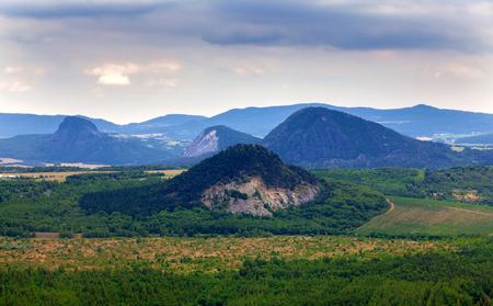 Mooi landschap in Tsjechië Stockfoto