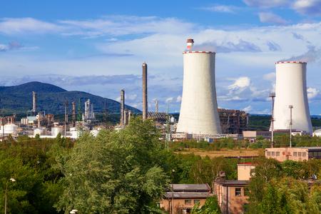 petrochemical: Petrochemical industrial plant, Czech Republic