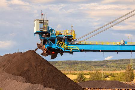 browncoal: Giant wheel excavator in brown coal mine