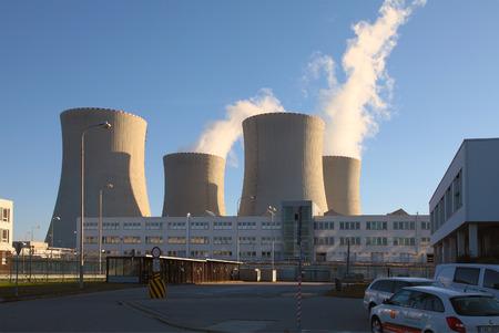 temelin: CZECH REPUBLIC, TEMELIN, SEPTEMBER 7, 2013: Nuclear power plant Temelin in Czech Republic Europe