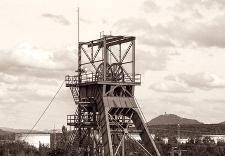 industrial heritage: Old mine tower