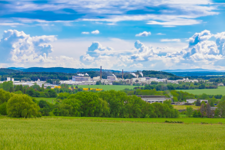 paesaggio industriale: View of the industrial landscape