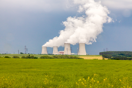thermal: Thermal power plant Stock Photo