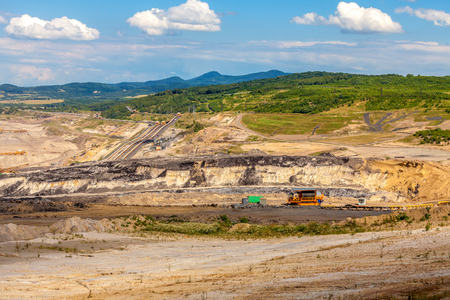 Coal mine, Czech Republic Stock Photo
