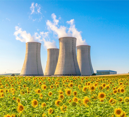 Nuclear power plant in Czech Republic Europe