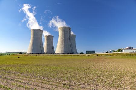Nuclear power plant Dukovany in Czech Republic Europe Stockfoto
