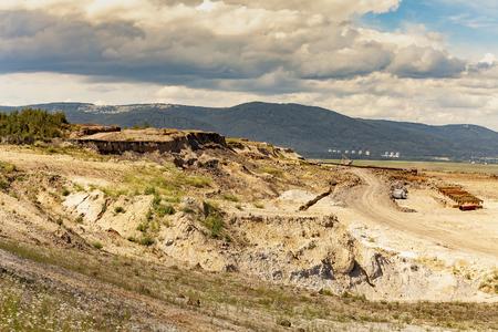 Coal mine near Horni Jiretin in the north of Bohemia, Czech republic